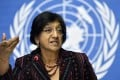 Navi Pillay, UN High Commissioner for Human Rights. Photo: EPA