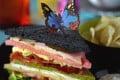The Rainbow Club sandwich at C'est La B in Pacific Place