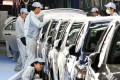 Japanese carmakers have reviewed their operations. Photo: AFP