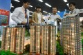 Flats at several new suburban projects have been released by developers in Beijing this month, helping to boost sales. Photo: AFP