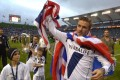 LA Galaxy's David Beckham, right, waves to fans as his sons from left, Romeo, Brooklyn and Cruz follow after winning the MLS Cup championship match 3-1 against the Houston Dynamo on Saturday. Photo: AP