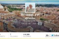 Screen shot of Pope's official twitter account. Photo: SCMP