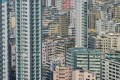 The Hong Kong property market depends on outside influences such as the US. Photo: AFP