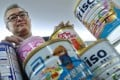 Ho Pui-him appeals to parents to be cautious of the beneficial claims of formula milk for their infants and young children that might have been exaggerated and misleading. Photo: K.Y. Cheng