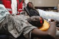 Injured men are treated at the Kenyatta National Hospital in Nairobi. Such attacks in Kenya are often blamed on Islamist militants al-Shabab of neighboring Somalia.