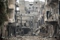 Damaged buildings in the Amarya district of Aleppo, Syria. Photo: AP