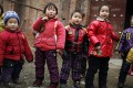 Many of the pupils are children of migrant workers. Photo: Reuters