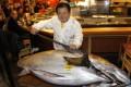 Winning bidder Kiyoshi Kimura, president of Kiyomura Co. Photo: AP