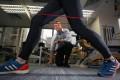 Physiotherapist David Garrick says runners should take training breaks. Photo: Felix Wong