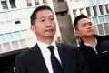 Firefighters Chan Wai-ho (left) and Tam Kam-lun. Photo: David Wong