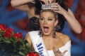 Mallory Hytes Hagan is crowned Miss America. Photo: AP