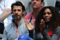 Serena Williams and her coach, Patrick Mouratoglou, are believed to be romantically involved. Photo: AFP