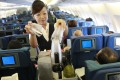 Cathay cabin crew normally retire at the age of 55.