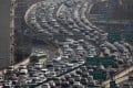 Morning rush hour traffic in Shanghai. Photo: Reuters