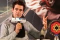 German director Tom Tykwer attending a press conference to promote his new movie Cloud Atlas, in Beijing. Photo: AFP