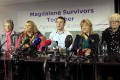 Magdalene survivors' spokesman Steven O'Riordan speaks at a news conference in Dublin. Photo: Reuters