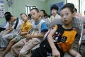 Child victims of Agent Orange are taught vocational skills at Friendship Village. Photo: AFP