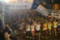 Participants begin the 10km event at the Eastern Corridor expressway starting line. Photo: SCMP