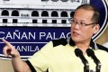 Philippine President Benigno Aquino asks Sultan Jamalul Kiram III to withdraw his supporters from Sabah during a press briefing at the Malaca–an Palace, in Manila, on Tuesday. Photo: EPA