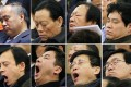 Tired delegates at the NPC. Photo: Reuters