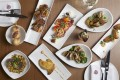 Selection of lunch Dishes at Sal Curioso, in Central
