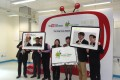 Hong Kong Digital Academy was launched on Tuesday at Salesian School in Tsuen Wan. Photo: SCMP Pictures