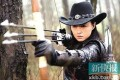 Actress Jiang Xin plays a bow and arrow-wielding, cowboy hat-wearing heroine in anti-Japanese war drama 'Ready to Fly'.