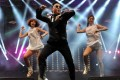 Psy performs Gangnam Style at a concert in Istanbul. Photo: AFP