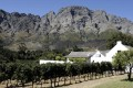 A winery in Franschoek,  east of Cape Town, where brandy is made. Photo: AFP