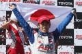 Takuma Sato of Japan wins the Grand Prix of Long Beach. Photo: AFP