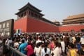 Visitors to the Palace Museum in Beijing can be assured their rights are protected under the new Tourism Law.Photo: Xinhua