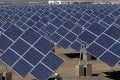 The EU executive on Wednesday proposed heavy anti-dumping tariffs of around 47 per cent on imports of Chinese solar panels. Photo: AFP