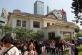 Government House in Central welcomes the public on Open Day in March. Pan-democrats say the 2017 chief executive election should be elected by all 3.2 million registered voters in Hong Kong. Photo: Nora Tam