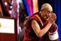 Tibetan spiritual leader the Dalai Lama on a US visit to Maryland last week. He has not returned to Tibet since fleeing in 1959. Photo: AFP
