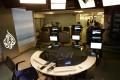 An Al-Jazeera English studio in Washington. Photo: AFP