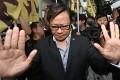 Wong Yuk-man on Tuesday morning. Photo: Sam Tsang