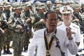 President Aquino vowed to defend Philippine sovereignty. Photo: Reuters