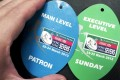 Sevens passes from 2013 (left) and last year. Photo: SMP