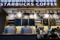 The Starbucks cafe in the Bank of China Tower in Central that used water from a tap near a urinal to brew coffee, prompting a torrent of angry reactions from customers. Photo: AFP