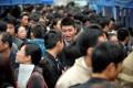 Job seekers attend a job fair in Haikou, Hainan province, in 2012. Photo: Xinhua