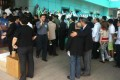 Photo from the funeral of disgraced Beijing Mayor Chen Xitong, Beijing on Tuesday. Photo provided by anonymous source.