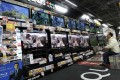 Sharp has suffered heavy losses due to excess capacity and weak demand for its TV screens. Photo: Reuters