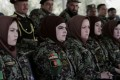 Female soldiers of Afghan National Army in Kabul. Photo: AP