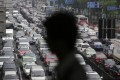 Car horns are used 40 times more often in China than in Europe. Photo: AP