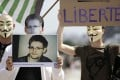 Supporters of Edward Snowden hold a demonstration in Paris on Sunday. Photo: AFP