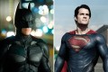 Henry Cavill's Superman (right) will take on the caped crusader.