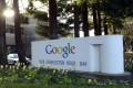 Google is pushing its eyewear as competition moves from smartphones and tablets to wearable technology. Photo: EPA