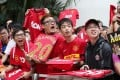 Manchester United has a big fan base in Asia. Photo: Felix Wong