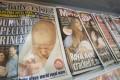 The birth of British royal baby hits the headline of press. Photo: AFP
