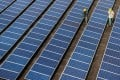 In June, Brussels imposed an emergency anti-dumping tariff of 11.8 per cent on the Chinese solar panels. Photo: Xinhua